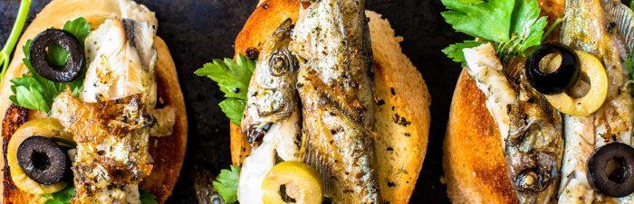 Crostini di sardine