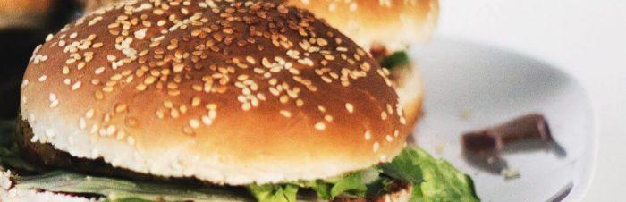 Hamburger di pesce bianco